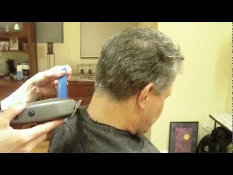 Hairstylist How-to: Mens Clipper Cut: Clipper Over Comb ...
