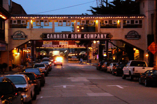 Cannery Row by Night