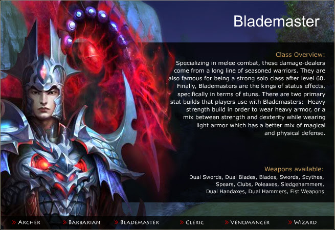 class - BladeMaster
