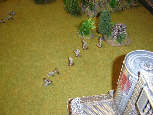 Mercs taking hits as they cross ground