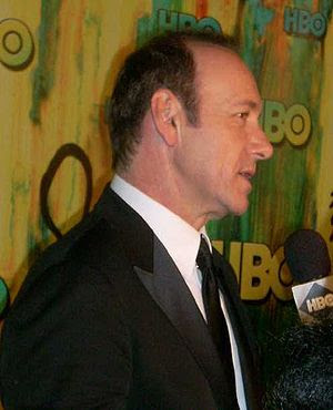 Kevin Spacey, at the HBO post-Emmys party, in 2008