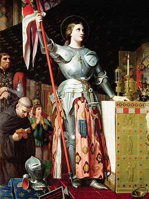 Joan of Arc at the Coronation of Charles VII. ...