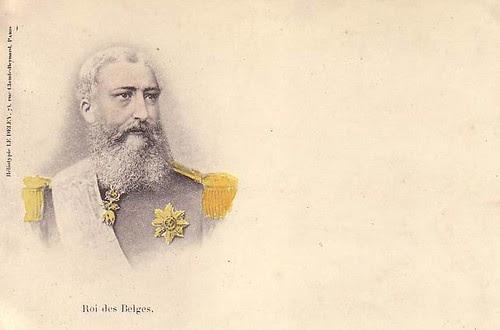 König Leopold II. von Belgien, King of Belgium
