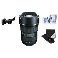 Tokina 16-28MM F/2.8 ATX Pro FX Zoom Lens for Nikon Digital SLR Cameras - bundle - with Flex Lens Shade, Adorama Slinger Soft Lens Case Medium, Professional Lens Cleaning Kit