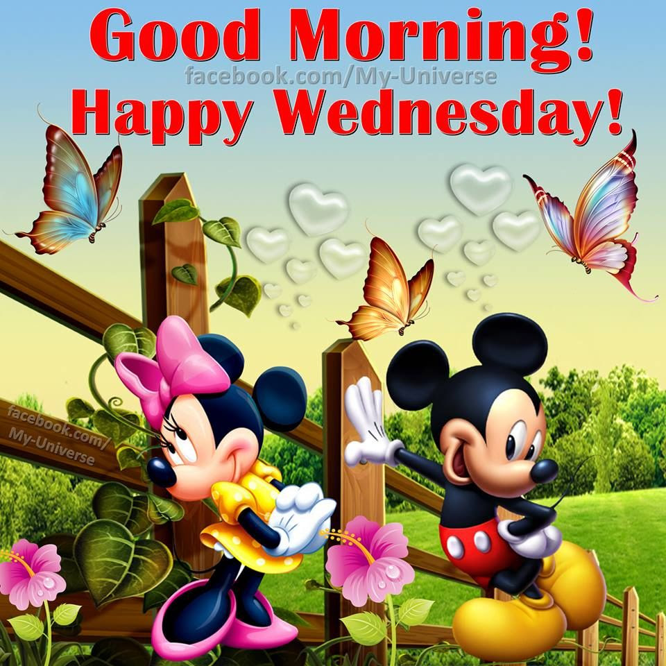 Disney Good Morning Happy Wednesday Pictures Photos And Images For