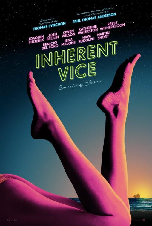 Resultado de imagem para inherent vice 2014 poster