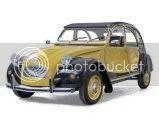 Ensamblando un clásico Citroën 2CV