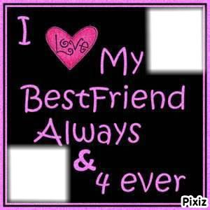 Photo Montage Best Friends Forever Pixiz