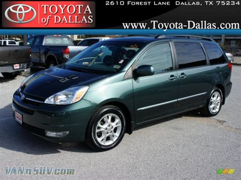 toyota sienna xle limited  aspen green pearl