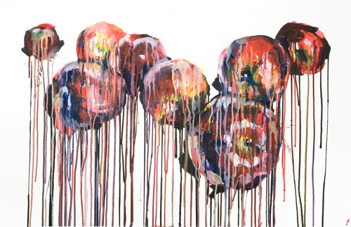chrissy angliker three artist painter painting