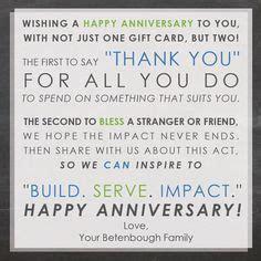 30 Year Anniversary Gift, 15 Year Work Anniversary Gift