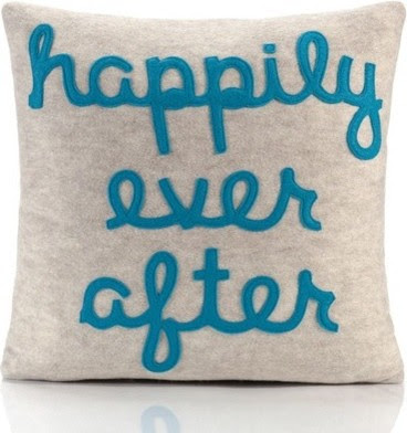 Happily Ever After Decorative Pillow - eclectic - bed pillows ...
