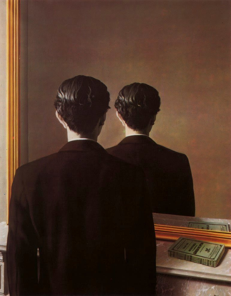 Not to be reproduced, 1937 Rene Magritte
