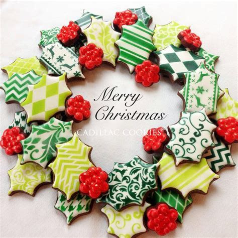 Christmas Wreath   Cookie Connection