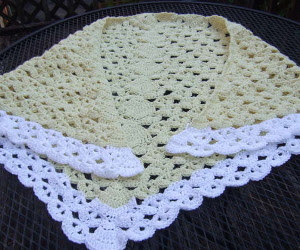 Lazy Weekend Crochet Shawl