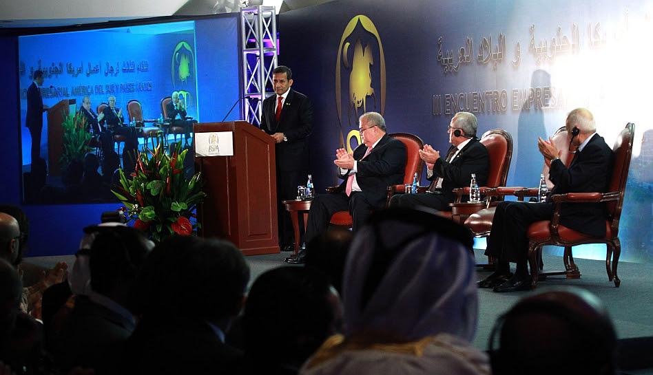 Economía peruana, Unasur, III Cumbre ASPA, Liga de Estados Árabes