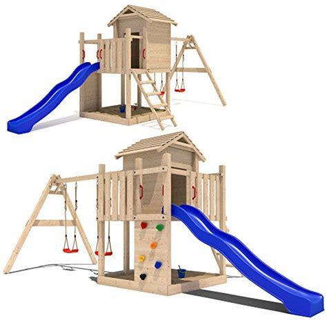 serina stelzenhaus mit rutsche und schaukel kinderspielhaus