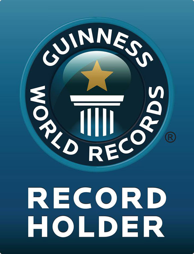 Schulte roofing and team smash the guinness world record for Guinness world record certificate template