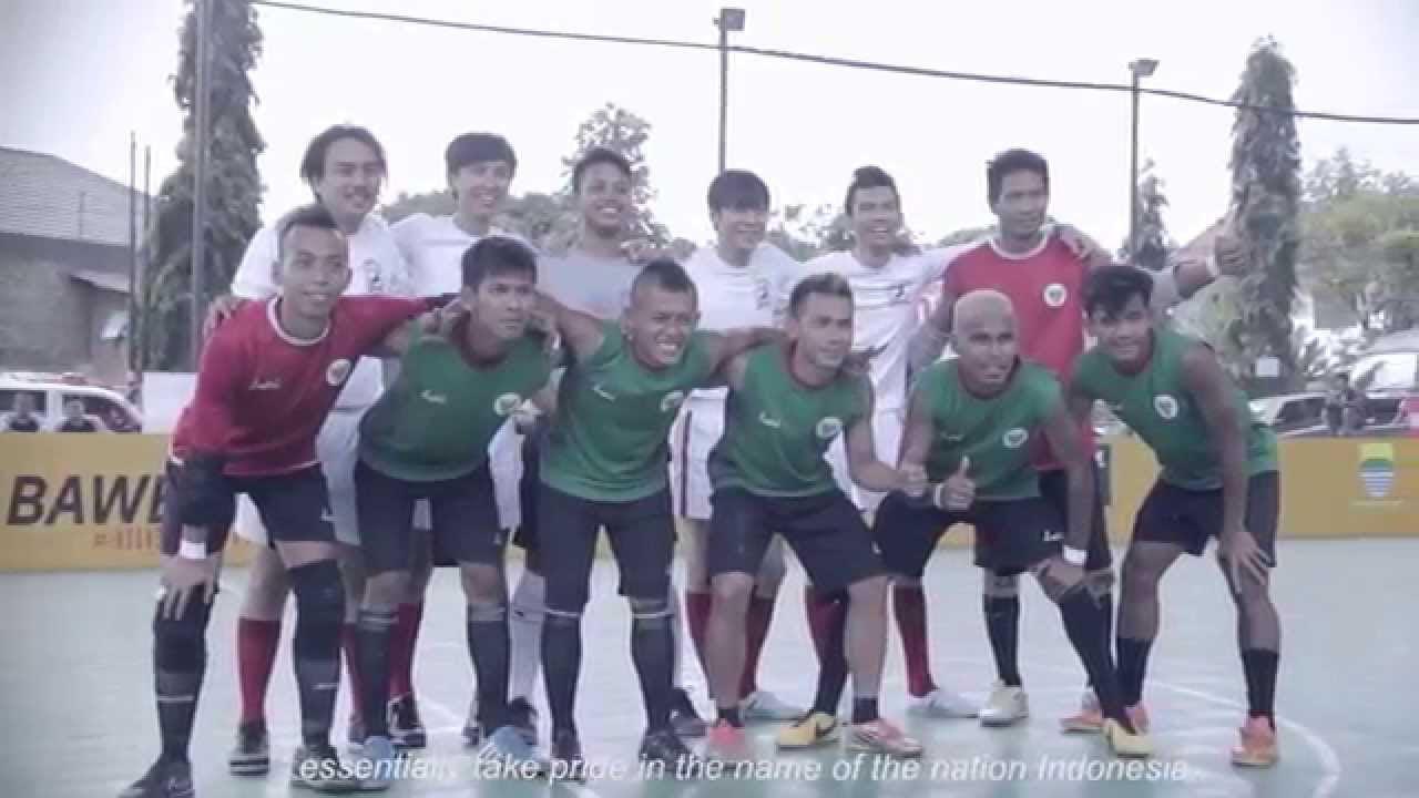 Nazar 36 Jam Timnas Indonesia Homeless World Cup 2014  YouTube