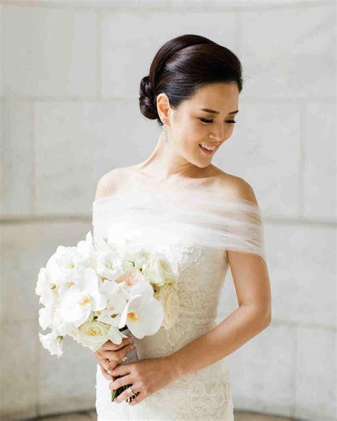 41 Brides Wearing Off the Shoulder Wedding Dresses