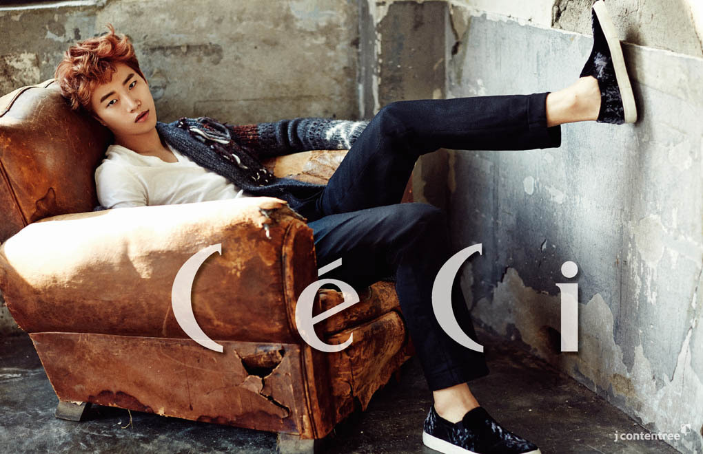 2PM Junho - Ceci Magazine January Issue '15