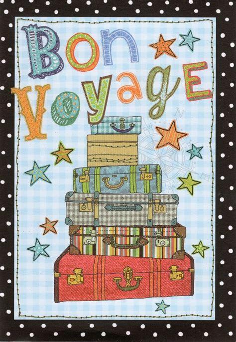Bon Voyage Greeting Card   Cards   Love Kates
