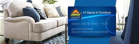 benefits    ashley furniture credit card