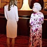 Kate Middleton Pictures With Queen Elizabeth at Buckingham
