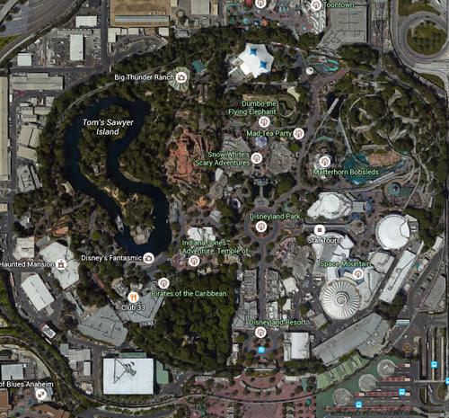 Disneyland Google Maps Cynthia Dangelo Flickr