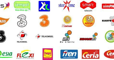 logo logo operator celluler lengkap gratis