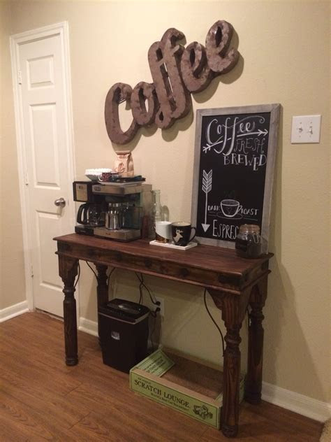 apartment coffee bar home