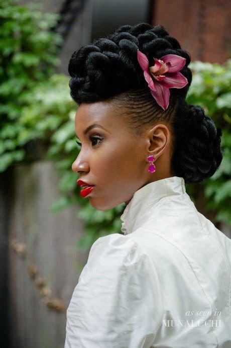 50 Best Wedding Hairstyles for Black Women  2018   Cruckers