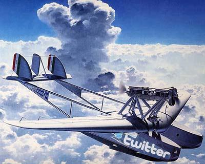 Avião do Twitter