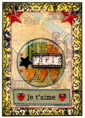 *Je T'Aime Paris* atc (Traded)