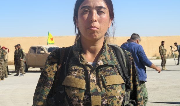 This woman is leading efforts to send ISIS to hell, but Turkey has other plans