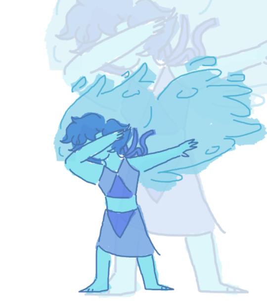 Drew Lapis Lazuli from memory