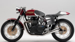 custom-built retro-style Triumph