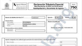 Declaració de la renda d'Alícia de Borbó-Parma (eldiario.es)