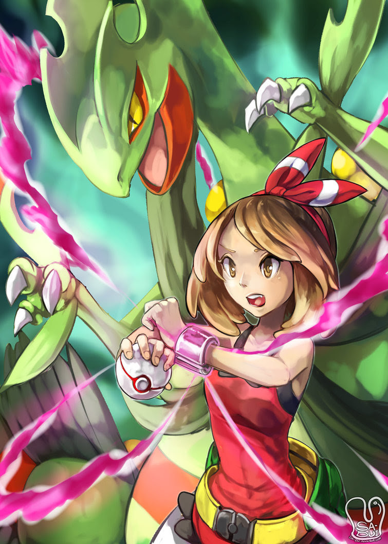 Pokemon Mega Sceptile Omega Ruby And Alpha Sapphire Fan Art