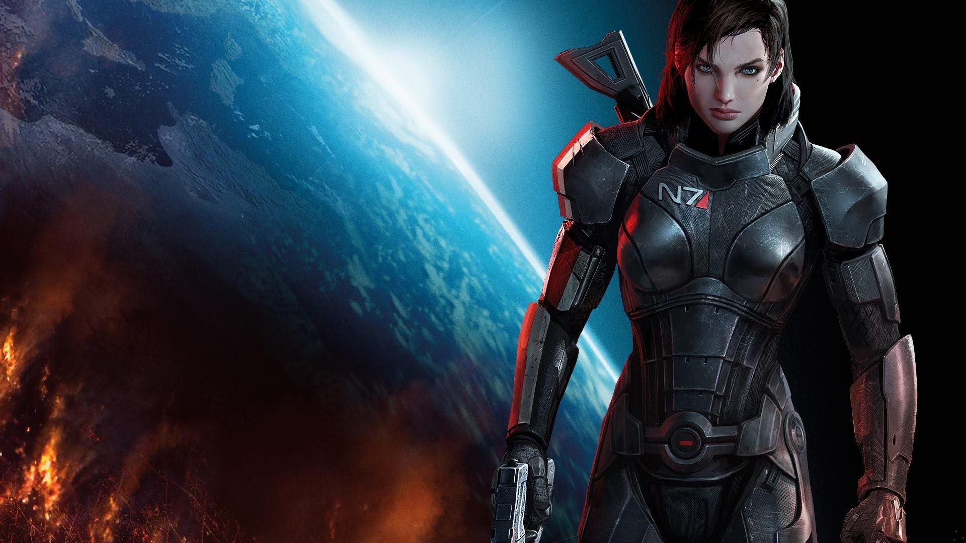 Mass Effect 3 Femshep Wallpaper 80 Images