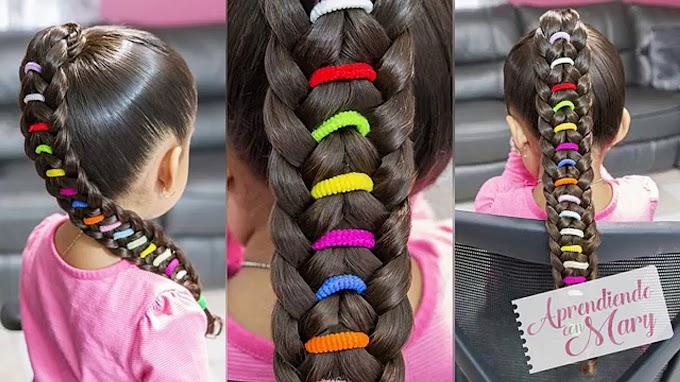 Peinados Con Liguitas Para Ninas Faciles