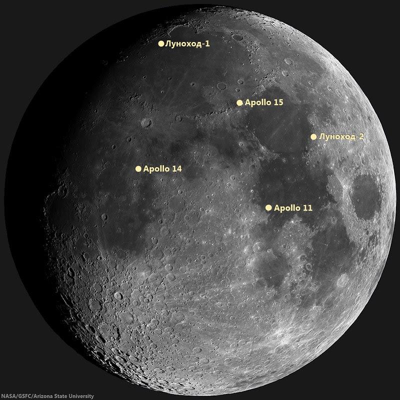 Lunar Laser Range Reflector arrays