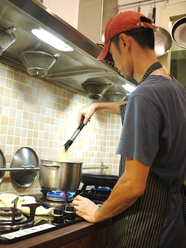 煮義大利麵