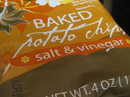 Trader Joe's Gluten Free Baked Salt & Vinegar Potato Chips