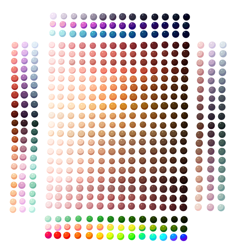 Anime Eye Color Palette – HD Wallpaper Gallery