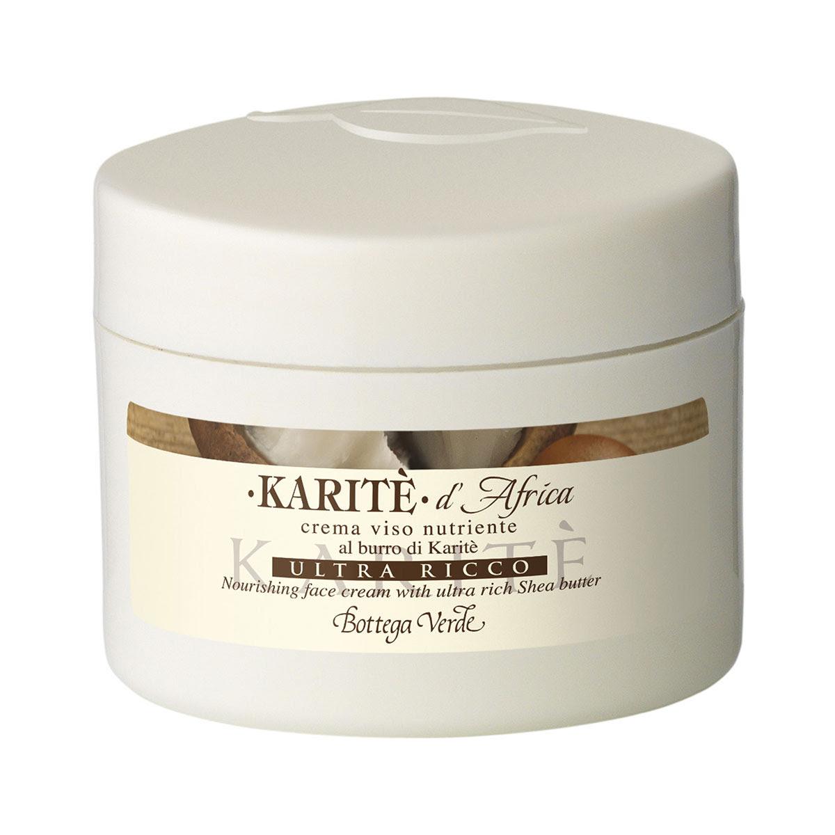 Karitè d'Africa - Crema viso nutriente al burro di Karitè ultra ricco (50 ml)