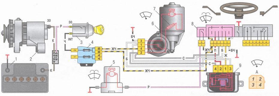 статья про стеклоочиститель ветрового стекла ВАЗ 2106 - устройство, особенности конструкции