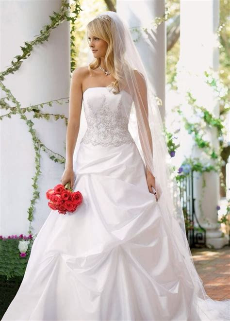 davids bridal wedding dress  tags style