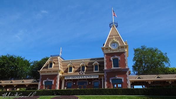 Disneyland Resort, Disneyland, Main Street, Train station