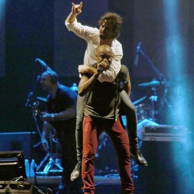 Fiuk e Thiaguinho (Foto: Instagram / Reprodução)